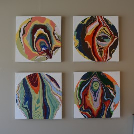 Multi Abstract Painting