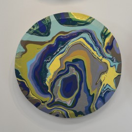 Concentric & Spin Pour, Blue